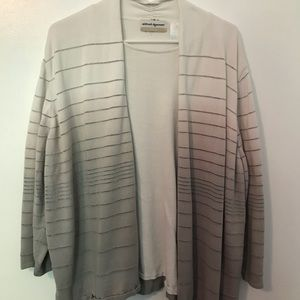 Alfred Dunner cardigan with under shirt
